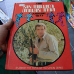 The Six Million Dollar Man Annual 1977 TV SHOW BOOK Steve Austin nice example